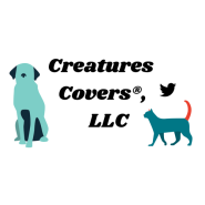 Creatures Covers®, LLC 2018 shows logo