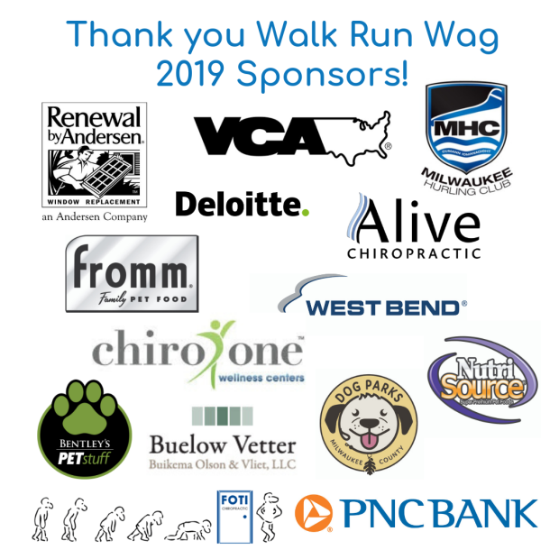 Thank you Walk Run Wag 2019 Sponsors!